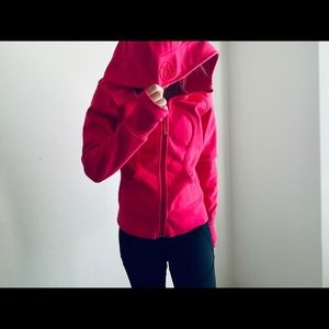 Lululemon Athletic crony pink hoodie jacket